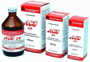 Фракция АСД-2 при лечении рака